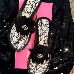 BCBG Jelly Sandals